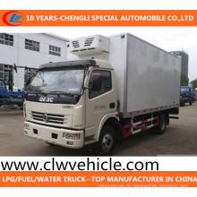 Frigorífico Van Caminhão 4X2 Congelador Van Caminhão Dongfeng Frigorífico Caminhão