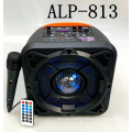 ALP-813 8 Inch Custom Logo Portable 8 Inch Subwoofer Woofer Sound Home Wireless Speaker With LED Light