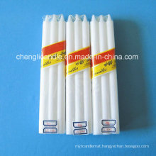 Household Stick Flameless Paraffin Wax Candle for Lighting and Praying