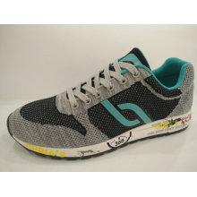 2016 Senhoras Retro Running Shoes com Fly Knitting