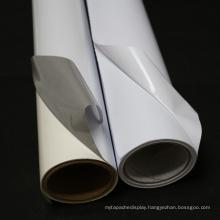 White Printable Removable Self Adhesive Vinyl Film