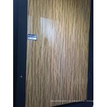 High Glossy Padrão Woodgrain MDF UV Board (ZHUV)