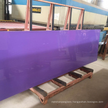 Backsplash 5mm-12mm Purple Blue Red White Black Lacquered Back Painted Glass