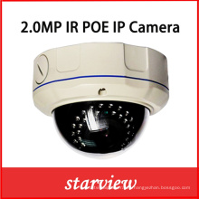 2MP Full HD1080p Varifocal IR Red IP Poe CCTV proveedores de seguridad Cámara