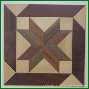 Гладкая основной цвет Водонепроницаемый деревянные цены паркете Джидда
