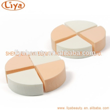 OEM wholesale triangle powder puff for makeup