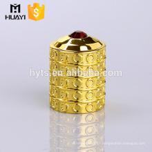 Made in China gold custom low price perfume glass bottle zamac cap