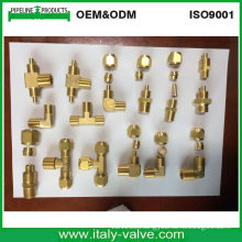 Brass Flare Elbow Tee Coupling/ Fitting (IC-9094)