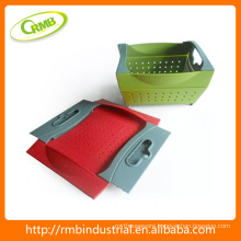 Hot sale plastic fruit and vegetable storage baskets