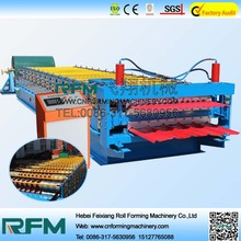 Διπλό στρώμα Sheet Roofing Roll Forming Machinery