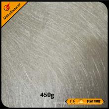 E-fibra de vidro de isolamento de vidro picado strand mat 450g