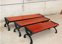 High quality wood plastic composite garden bench
