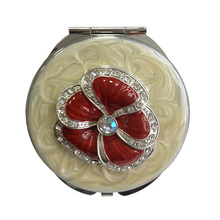 Red Poppy Pattern Mirrors