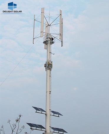 wind solar hybrid system @DELIGHT