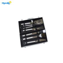 6-Piece Accessories Aluminum  Case BBQ
