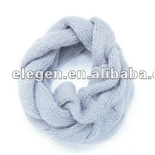 100% ACRÍLICO KNITTED INFINITY WINTER SCARF NECK GAITER
