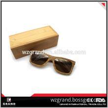2014 High Sale Wood Sunglasses with Bamboo Sunglasses Case Box