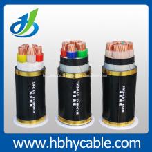 0.6 / 1KV Kupferleiter PVC isolierte PVC umhüllte Stromkabel
