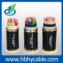 0.6/1кв медный PVC проводника изолированный PVC обшитый силовой кабель