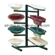 Succinct Style Four Layers Metal Display for Bathroom