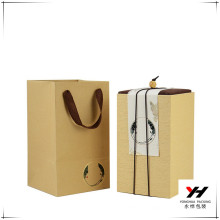 high quality custom brown kraft paper box slide open box with wholesale