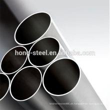 preço mais recente 304 grau de tubos de aço inoxidável soldado preço