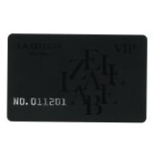 Número gravado / cartão de letra com laser gravado único n.