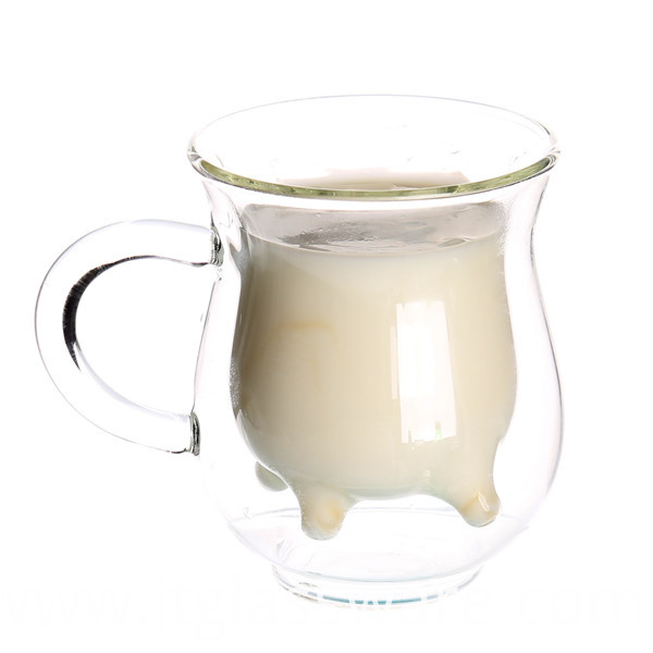 Glass Milk Cup