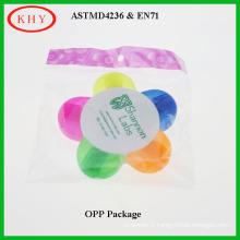 Colorful Petal Shape Highlighter Marker with Chisel Tip