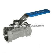 1000WOG 2 pouces 1PC inox BSP robinet à bille avec dispositif de verrouillage