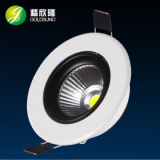 3.5 inch cutout 90mm adjustable cob led downlight 10w SAA approved