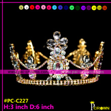 Cheap pageant crowns for man,king pageant tiaras for sale