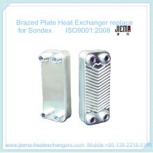 Trocador de calor de placa soldada para substituir o Sondex