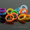 Concave Vape Band Décoration et protection Modes mécaniques Couleurs Bandes de silicone Bandes de vaporisateurs Bandes de vomissements Ecig Vape Band