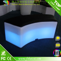 Glühende luxuriöse Outdoor LED beleuchtete Möbel