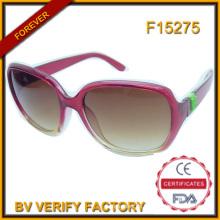 F15275 CE-FDA Großhandel PC Frame Mode Sonnenbrillen