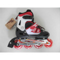 Kids Sports Red and Black Inline Skates