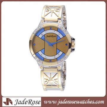 Moda pulseira relógio presente barato Women′s quartzo relógio