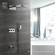 Torneira para duche de quatro funções de parede