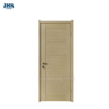 JHK Modern Design Yellow Flush PVC Door