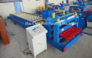 European Style Partial Arc Glazed Tile Roll Forming Machine