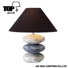 2013 Coarse Soil Art Hand Paint Table Lamp For Living Room, With CE.UL