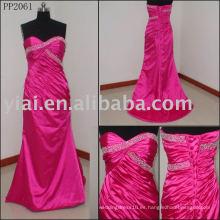 2010 Nuevo vestido de noche de seda atractivo del diseñador PP2061