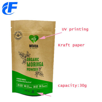 UV Printing kaft paper Standup pouches