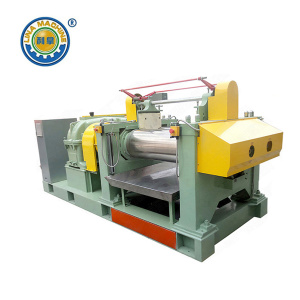 Open Mixing Mill dengan Gear Surface Harden