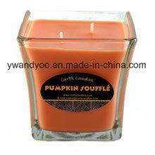 Bougies parfumées de luxe avec boîte décorative