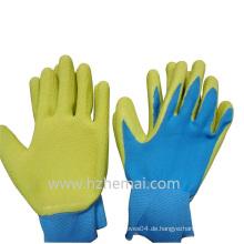 Lady's Gardening Handschuhe Latex Coated Work Handschuh