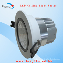 10W LED Downlight COB Bridgelux Manufacturer in Warm White
