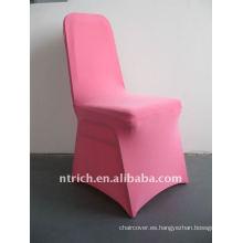 cubierta de la silla spandex rosa / rosa, CTS682, apto para todas las sillas