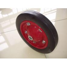 Roda sólida para carrinho de mão